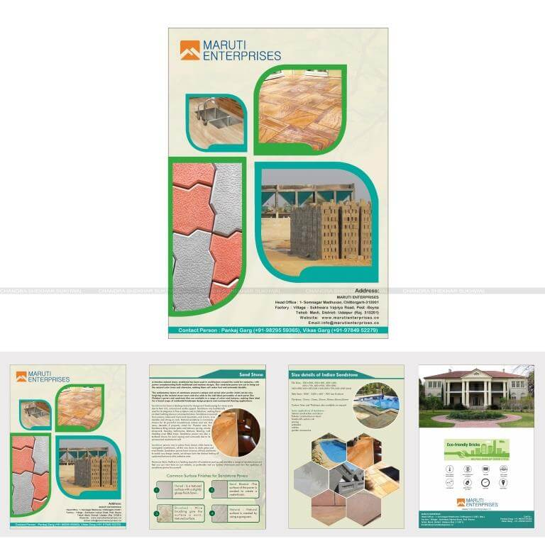 best Brochure designer in udaipur