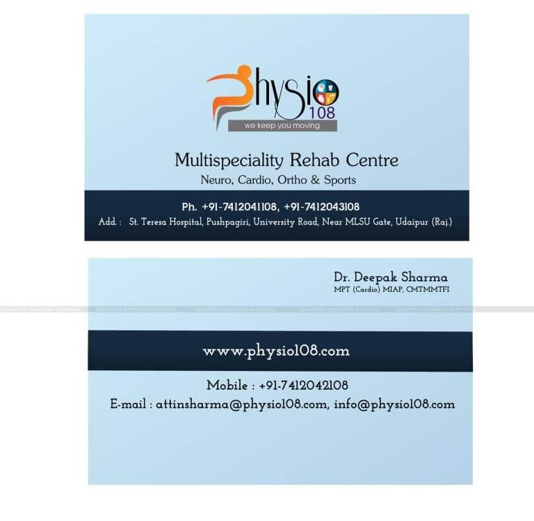 visiting card designer in udaipur